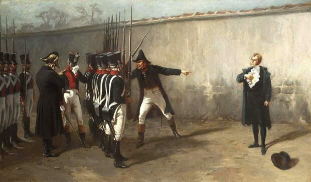 Маршал Наполеона, который командовал своим же расстрелом
