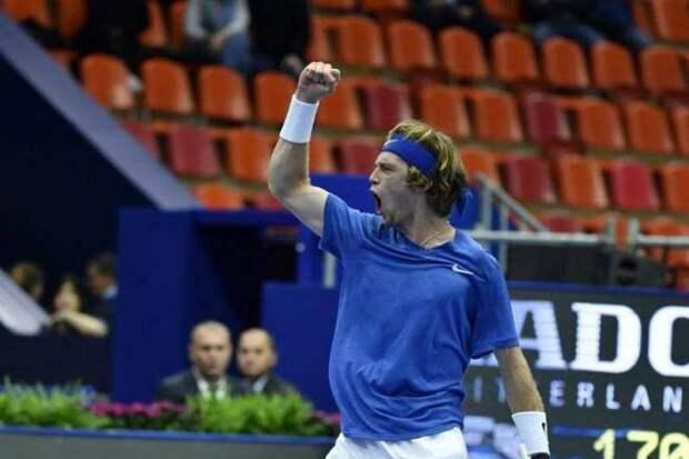 Андрей Рублев завоевал титул в Санкт-Петербурге, став 8-й ракеткой мира!