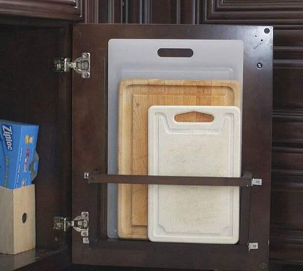 10 скрытых мест для хранения на кухне, которые можно использовать прямо сейчас