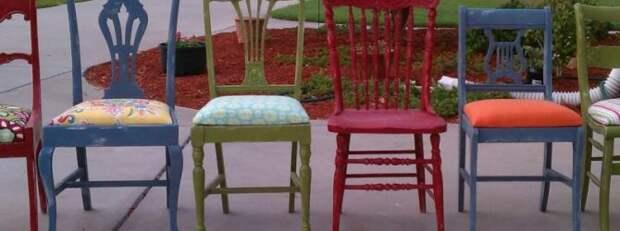Что можно сделать из старого стула