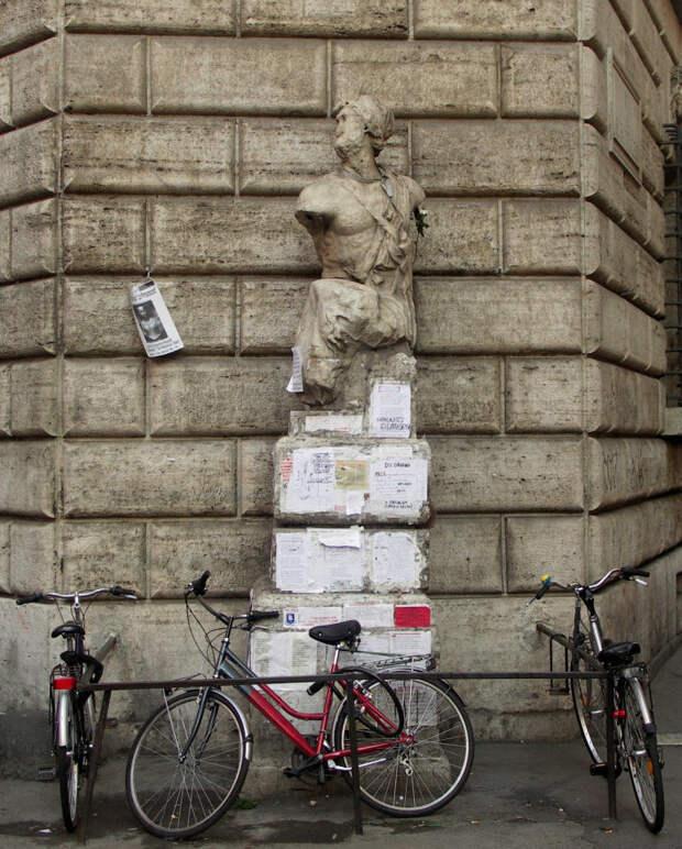 «Говорящие» статуи Рима: о чем, с кем и как они беседуют