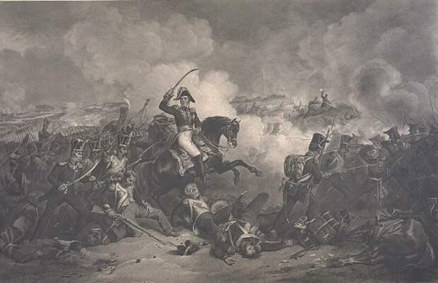 Атака маршала при Бородино
