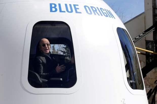 Миллиардер Джефф Безос отправится в космическое путешествие 20 июля