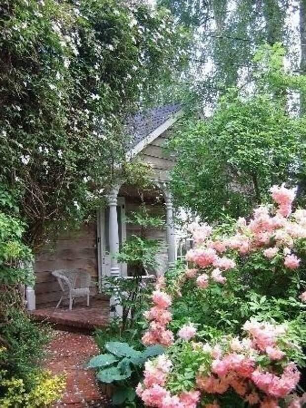 Уютный мой дворик)