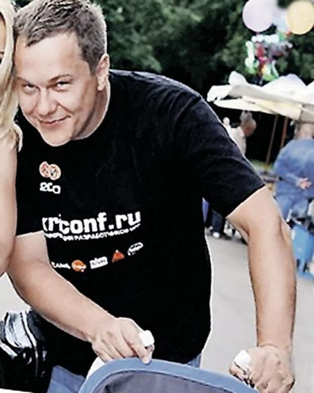 """Первый муж - Денис Мурашкевич. Фото: архив """"ЭГ"""""""