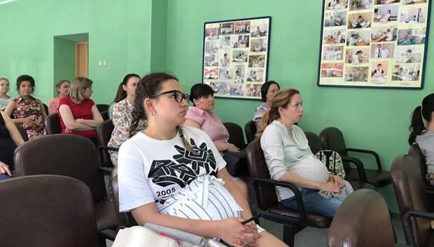Роддом Подольска получил новую машину реанимации новорожденных