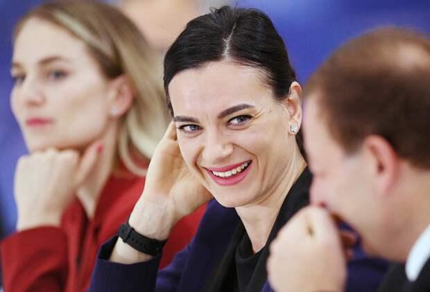 Исинбаева призналась, что неготова работать тренером: «Может быть, лет через20»