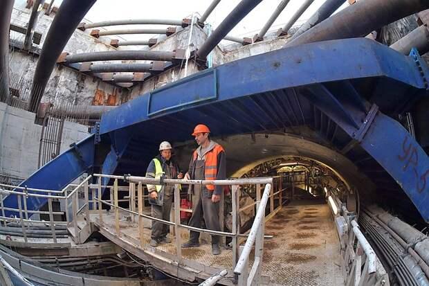 Все тоннели Большого кольца метро построят в этом году