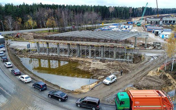 Объезд Москвы подорожал: «Автодору» нужно еще 45 млрд руб. на ЦКАД