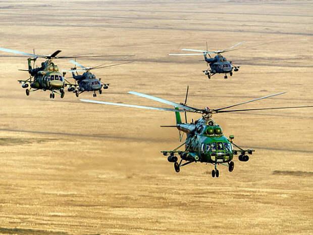 «Военный обозреватель»: В ЦАР замечены российские военные вертолеты Ми-8 и Ми-24