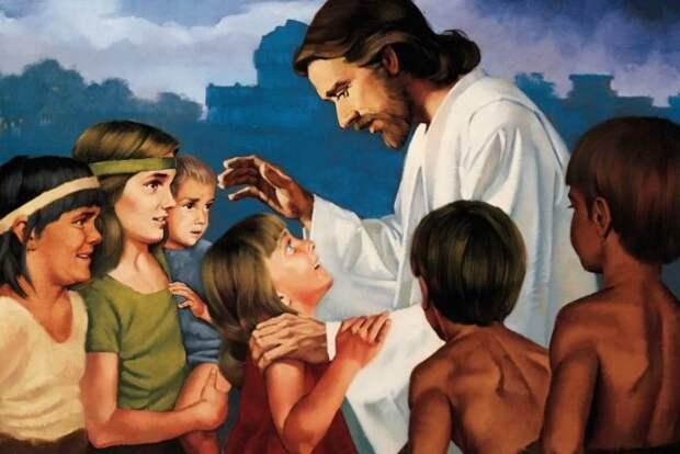 Иллюстрация для детской Библии