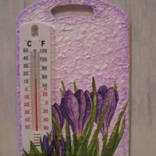Делаем декоративный термометр