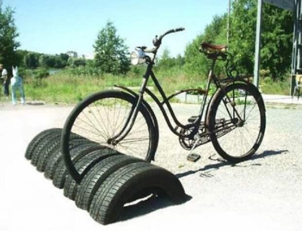 20 гениальных идей, как можно повторно использовать старые шины