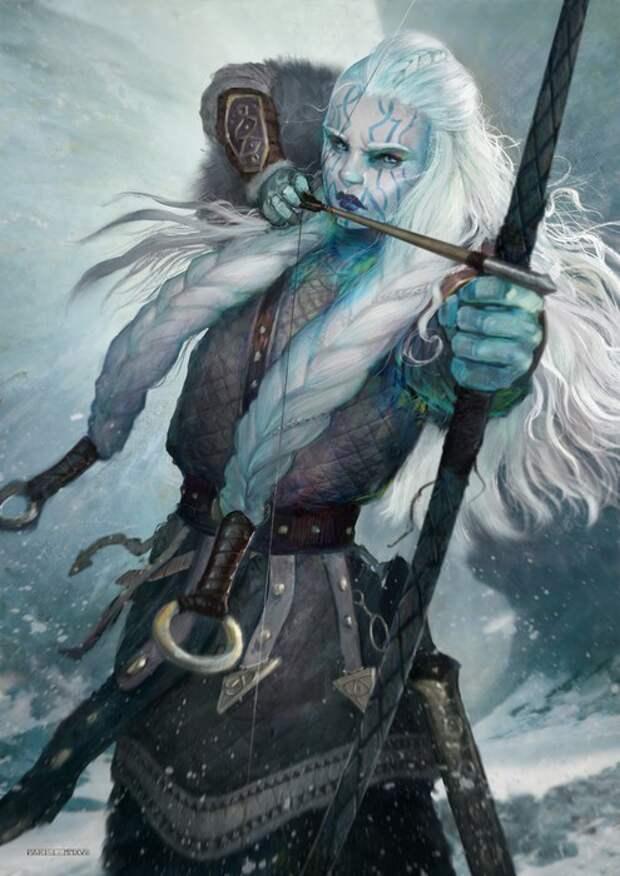 Скади тоже была лучницей и в одну зимнюю ночь охотилась не только на зверей.