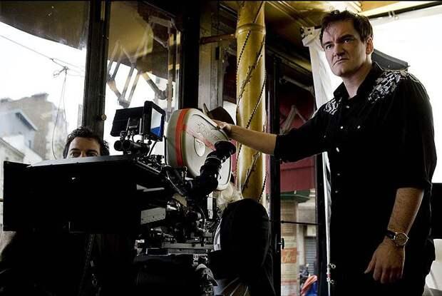 Творчество голливудского режиссера в фотографиях режиссер, фото, квентин тарантино, кино