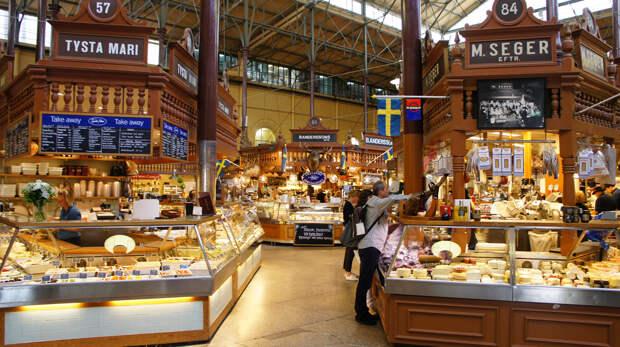 История рынка берёт своё начало с 1888 года. На сегодняшний день общая площадь его торговых залов составляет 3 000 м². (Yukino Miyazawa)
