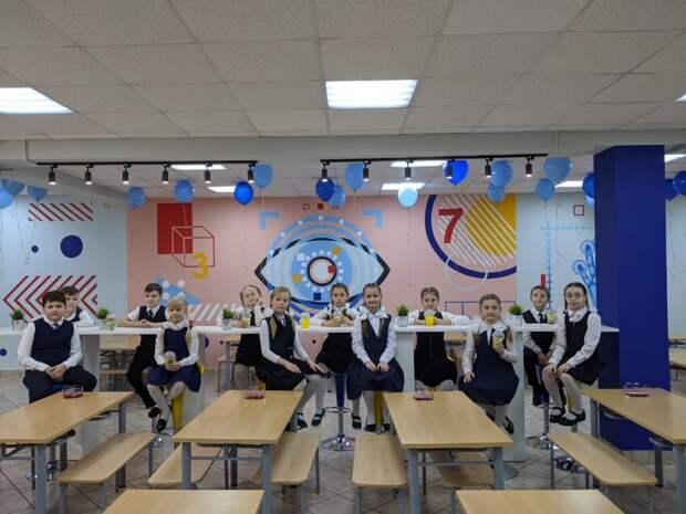Школьные столовые в новом формате