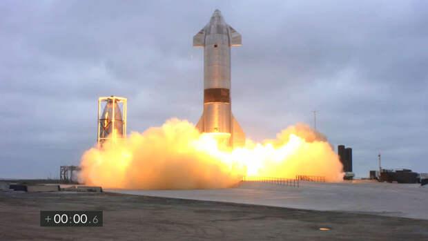 SpaceX провела успешные испытания прототипа космического корабля Starship