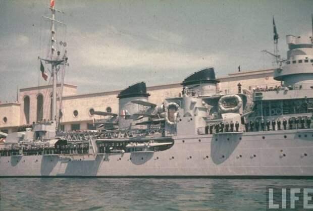 Боевые корабли. Крейсера. Арриведерчи, белле!