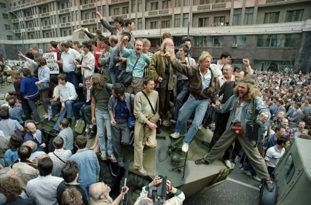 Как в августе 1991 мы сдавали свою великую державу