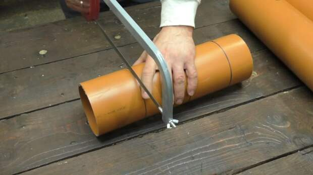Неожиданная и полезная идея, что можно сделать из рыжей 110 трубы