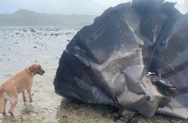 На острове Гуам обнаружили «летающую тарелку»
