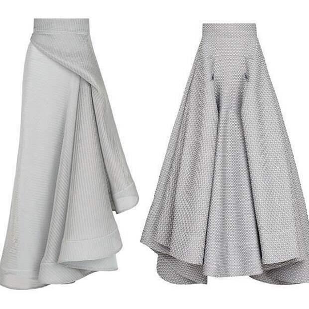 интересные юбки для полных
