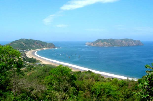 Саланго на побережье Эквадора имеет историю, которая, как известно, насчитывает 5000 лет. \ Фото: ancient-origins.net.