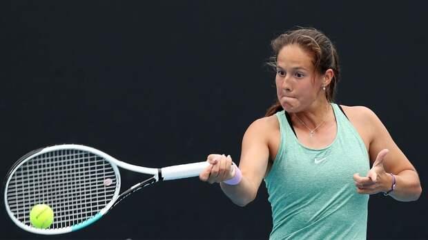 Касаткина стартовала с победы на турнире в Парме