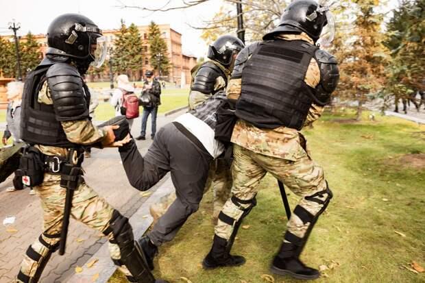 Протесты в Хабаровске. 10.10.2020