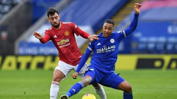 «Манчестер Юнайтед» – «Лестер» – 1:2. Обзор матча и видео голов