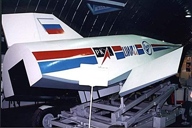 Макет гиперзвукового летательного аппарата «Игла».