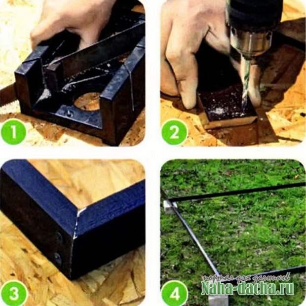 Шпалера для вьющихся растений своими руками