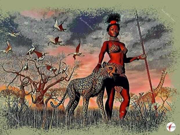 за тысячу лет в поисках нового дома племена Нока  эволюционировали