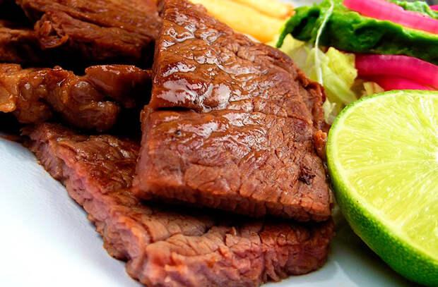 Еда, наполняющая организм железом