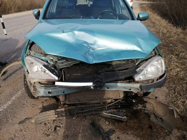 На автодороге Осташков-Волговерховье произошла авария - пострадал ребенок