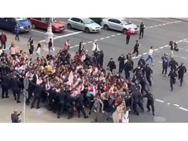 Куда прорывались белорусские студенты?
