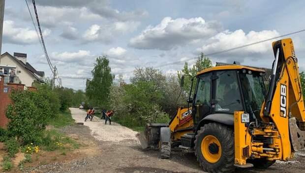 В Подольске начали ремонт 7 дорог из 54 запланированных