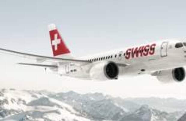 Два самолета вернулись в аэропорт Цюриха из-за удара молнии