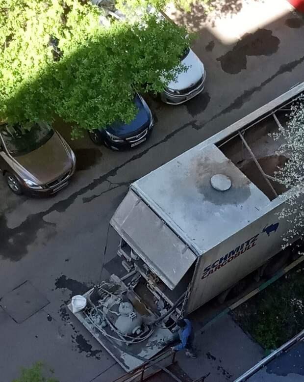 Шум строительной техники в проезде Дежнёва мешал жителям отдыхать