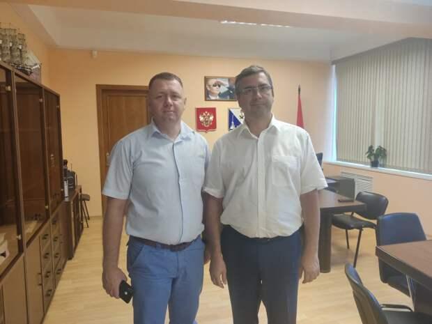 Глава Мининформа Крыма и замгубернатора Севастополя обсудили взаимодействие двух регионов