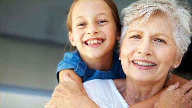 Любовь между бабушкой и внучкой - это навсегда!