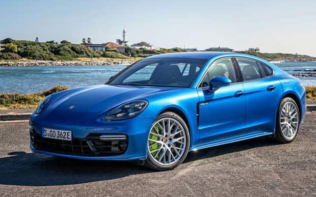 Оператив ЗР: Porsche Panamera 4 E-Hybrid – богатые тоже экономят?