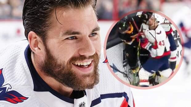 Форвард «Вашингтона» Уилсон дисквалифицирован на 7 матчей НХЛ