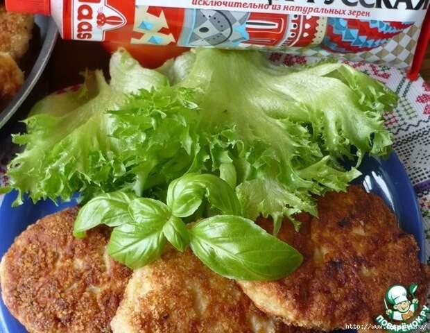 Горчичные куриные котлеты с очень богатым вкусом!