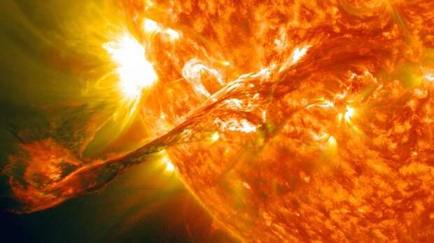 Российские ученые зарегистрировали мощнейшую вспышку на Солнце