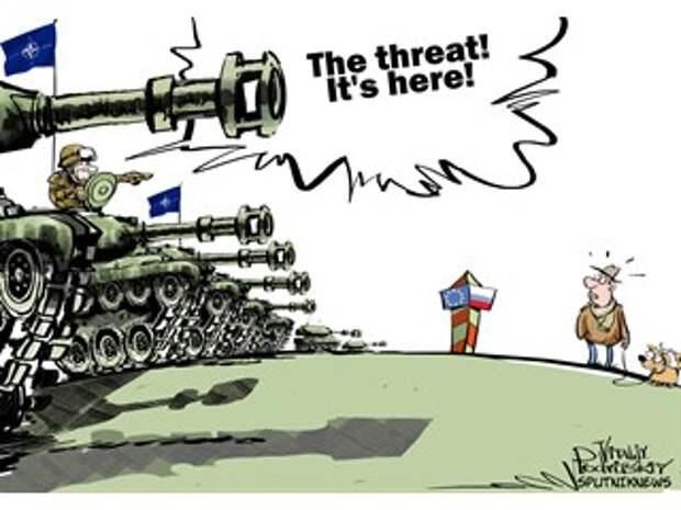 «Русское вторжение» в Прибалтику обернётся для НАТО крахом?