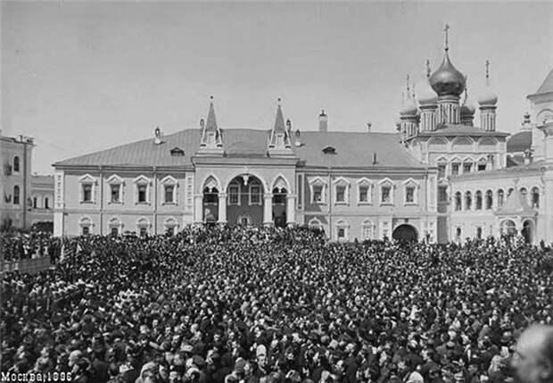 Фотохроника Ходынской катастрофы.