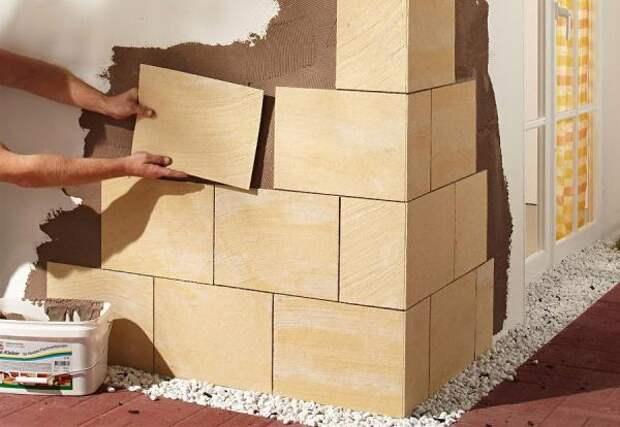 4 ошибки, совершаемые при отделке стен гибким камнем