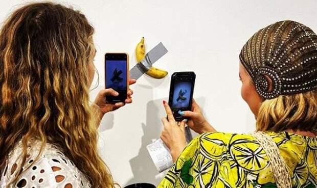 Американцы продают банан за 120 тысяч долларов